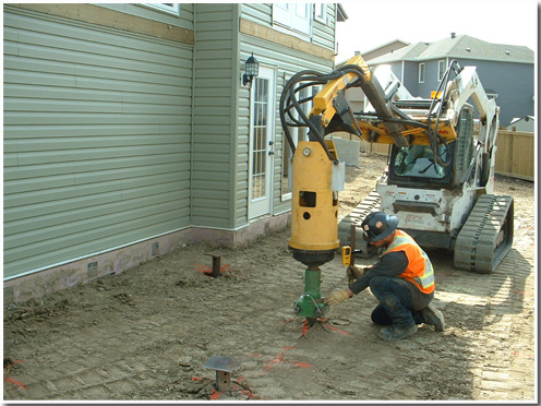 poste ch helical screw piles edmonton